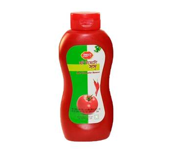 Pran Hot Tomato Sauce (Plastic Jar) - 550 gm