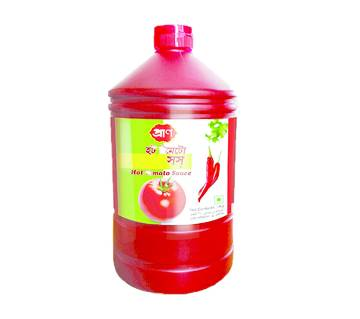 Pran Hot Tomato Sauce (Plastic Jar) - 1000 gm