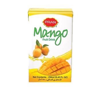 Pran Mango Fruit Drink Tetra Pack - 250 ml