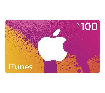 iTunes Redeem Code 100 Dollar  US Gift Card APPLE App Store