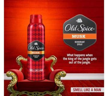 Old Spice Musky DEOSPRY -150ML P&G