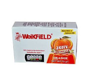 WEIKFIELD VEG JELLY CRYSTAL ORANGE 75GM - P&G-INDIA