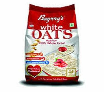 BAGRRYS WHITE OATS 500 GM POUCH-INDIA