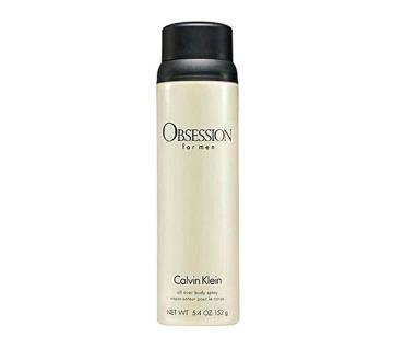 CK OBSESSION DEO MEN EDT 152 ML import from dubai