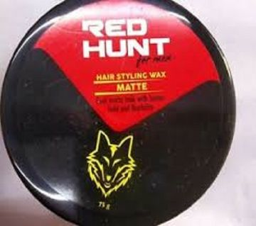 RED HUNT HAIR WAX- MATTE-100g(India)