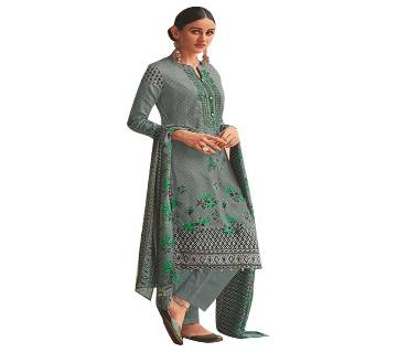 HOUSE OF LAWN (MANNAT) Unstitched Lawn Three piece