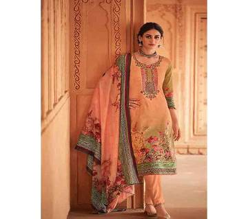 HOUSE OF LAWN (SULTANA-1) Unstitched Lawn Three piece