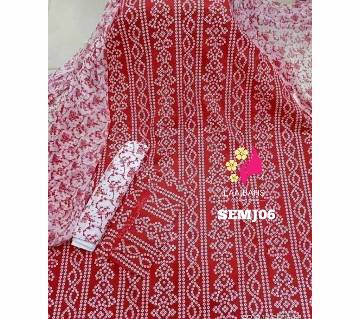Joypuri Print 06 Unstitched salwar kameez for women