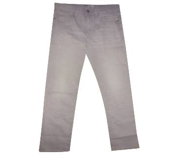 Boys Long Denim Pant - Gray