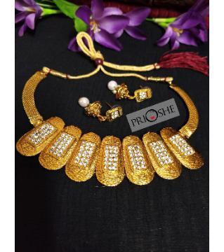 Golden Stone set for women