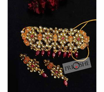 Kundon Necklace set for women