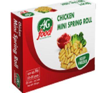 AG Food Mini Chicken Spring Roll (250g)