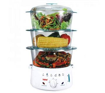 Tecno. Food Steamer TES-9688 (Code - 330005) by MK Electronics