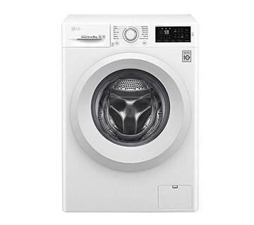 LG F4J5TNP3W 8 KG Front Load Fully Automatic Washing Machine (CODE - 620189) by MK Electronics