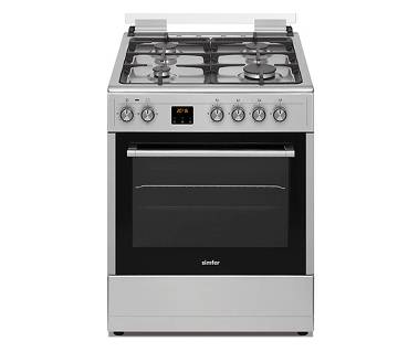 Gas Cooker Simfer 4 Burner 6060GS 60X60 (CODE - 340163) by MK Electronics
