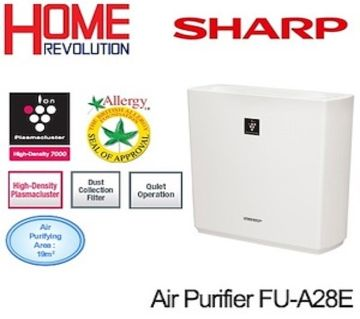 Sharp Air Purifier Plasmacluster Area 21 M2 FU Y30E/SA-W by MK Electronics