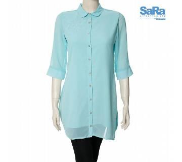 SaRa Lifestyle Ladies Casual Shirt (NWCS11B)
