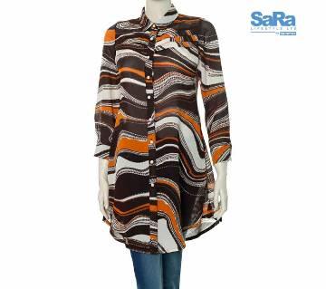 SaRa Lifestyle Ladies Casual Shirt (NWCS08)