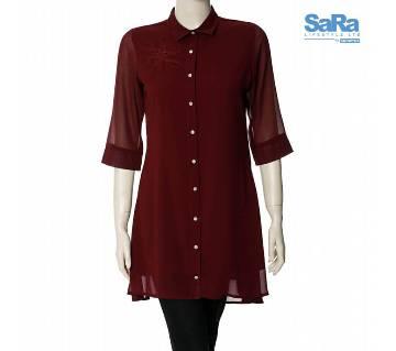 SaRa Lifestyle Ladies Casual Shirt (NWCS11C)