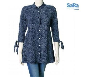 SaRa Lifestyle Ladies Casual Shirt (WCSS5)