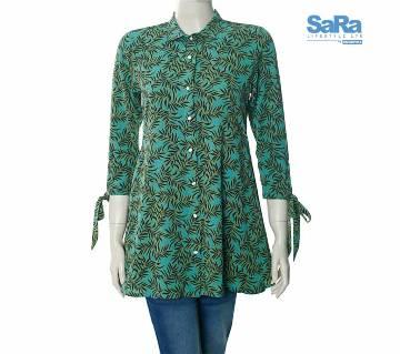 SaRa Lifestyle Ladies Casual Shirt (WCSS4)