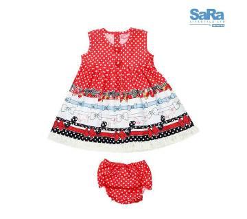 SaRa Lifestyle Kids Girls dress Set (SIND28KP)