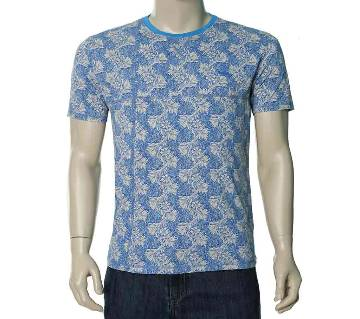 SaRa Lifestyle Mens Printed Cotton T-Shirt(MTSH308)