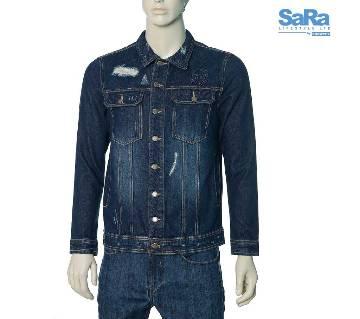 SaRa Lifestyle Mens Denim Jacket (SDJ04NE)