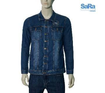 SaRa Lifestyle Mens Denim Jacket (SDJ07B)