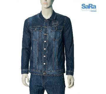SaRa Lifestyle Mens Denim Jacket (SDJ07C)