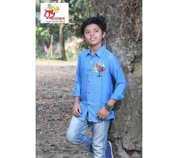 Rang Bangladesh Kids Shirt-RBJ-SHT-00070 by Rang Bangladesh