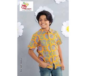 Rang Bangladesh Kids Shirt-NG-SHT-00455 by Rang Bangladesh