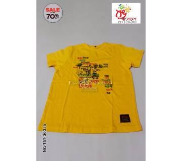 Rang Bangladesh Kids T-Shirt-NG-TST-00056 by Rang Bangladesh