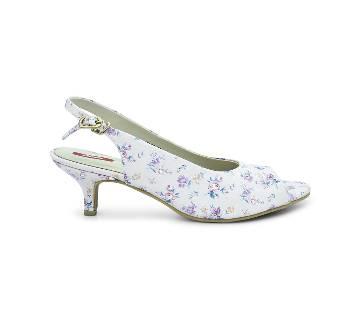 Bata Grace Floral Kitten Heel for Women - 6615917