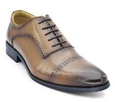 Ambassador Lace-up Formal Shoe in Brown by Bata - 8244324 Bangladesh - 11410872