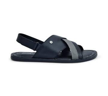 Bata Black Sandal for Men - 8646541