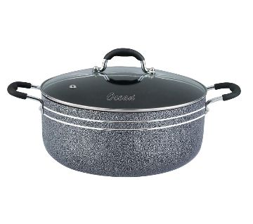 INC22 IHW Cooking Pot W/Glass Lid 22cm by IHW