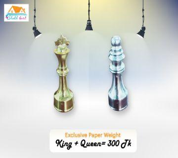Paper weight (king queen shape)