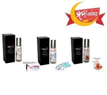 3 pcs Roll on Perfumes (Attar) 6ml-BD