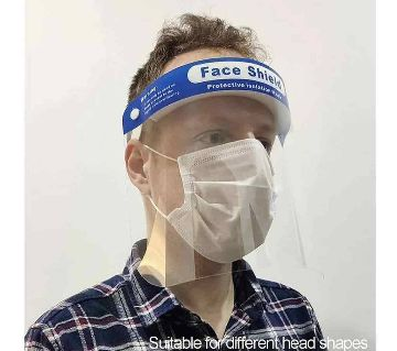 Face Shield Optically clear
