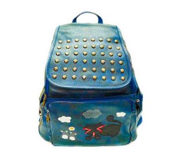 14-Girls Backpack - Turquoise