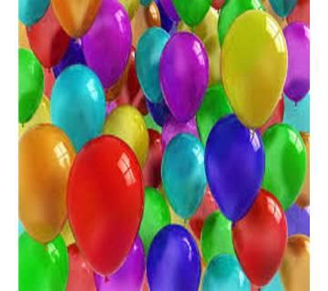 Plastic Balloon 100 piece