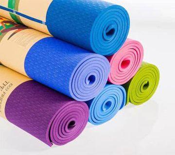 Eco Friendly Yoga Mat 6mm - Multy Colour