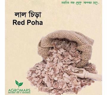 Flattened rice (red) 500 gm