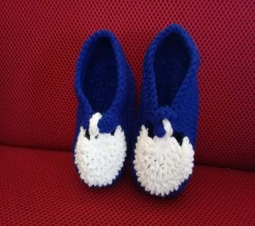 Baby Shoes Crochet Casual Baby Handmade Knitted Sock Infant Baby Shoes Lightweight and Soft Comfortable Shoes.