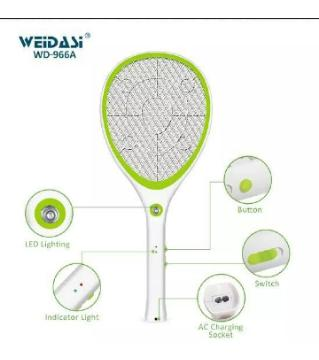 Rechargeable  Mosquito Bat