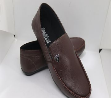 Leather Handmade Loafers Shoes For Men