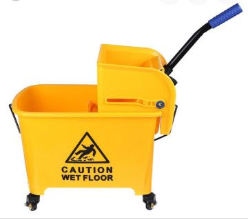 All-in-one Tandem Mopping Bucket 20L