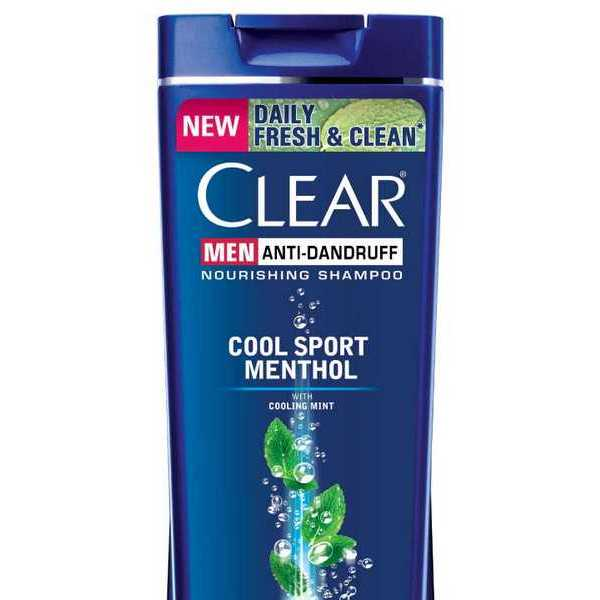 Clear Shampoo Men Cool Sport Menthol Anti Dandruff 180 ml