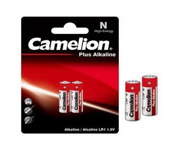 N size Plus Alkaline Battery 1.5V 2 pcs Camelion (LR1)